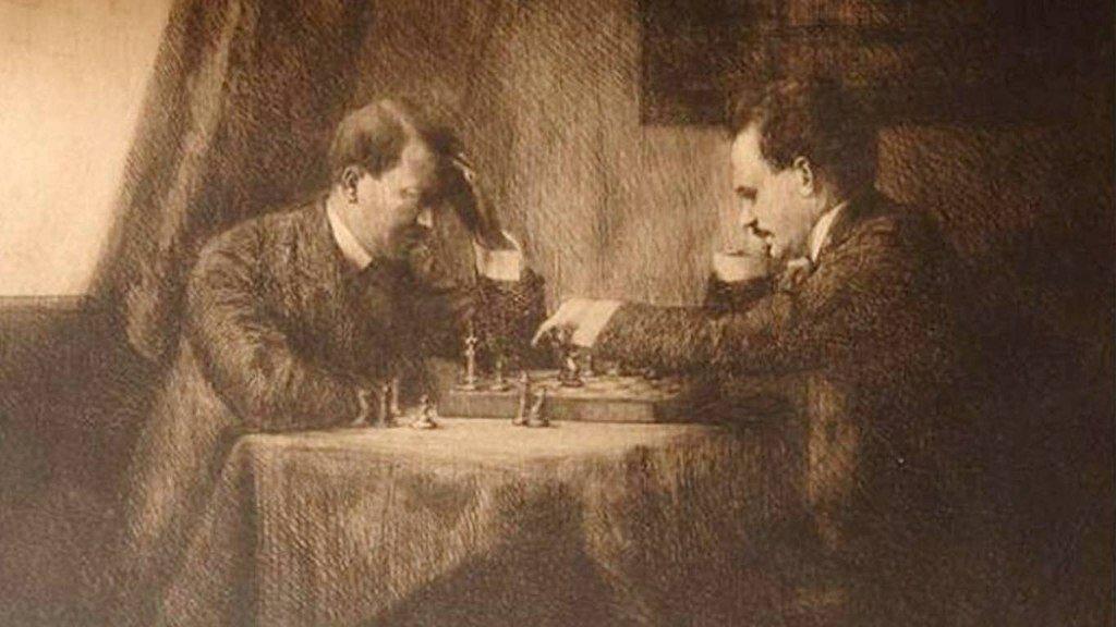 Історичні події в живописі: Гітлер і Ленін грають в шахи, Клеопатра і Лжекняжна у вирі пристрастей.