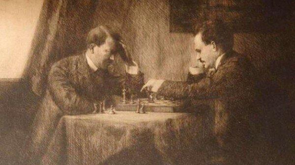Ленін грав з Гітлером в шахи?
