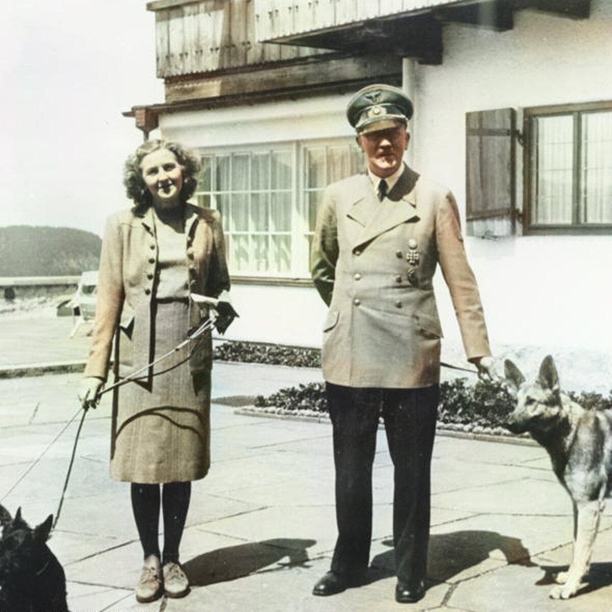 Кореспондент газети «П. М.» Єва Браун жива. Правда 24 вересня 1945 року.