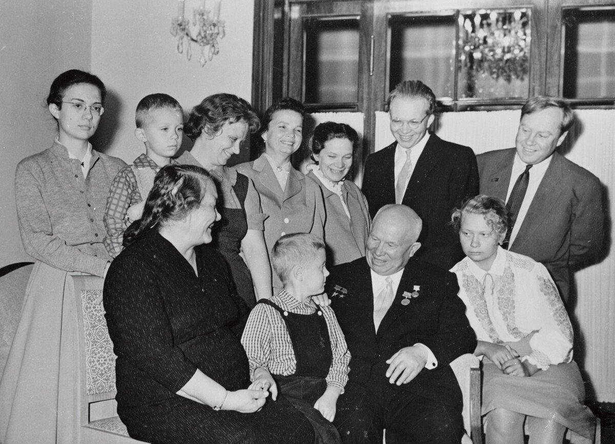 Як склалася доля дітей Микити Хрущова