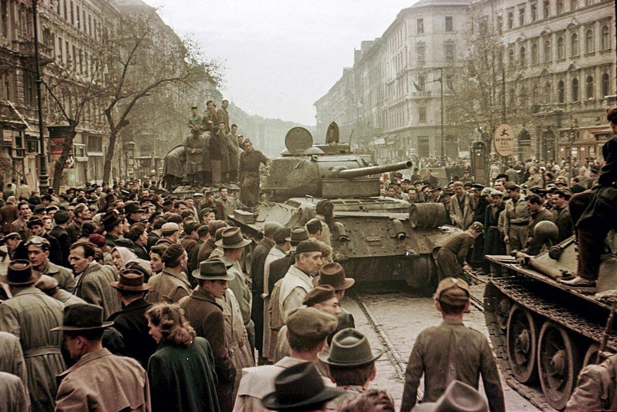 Як Радянська Армія розпочала війну з угорцями в 1956 р.