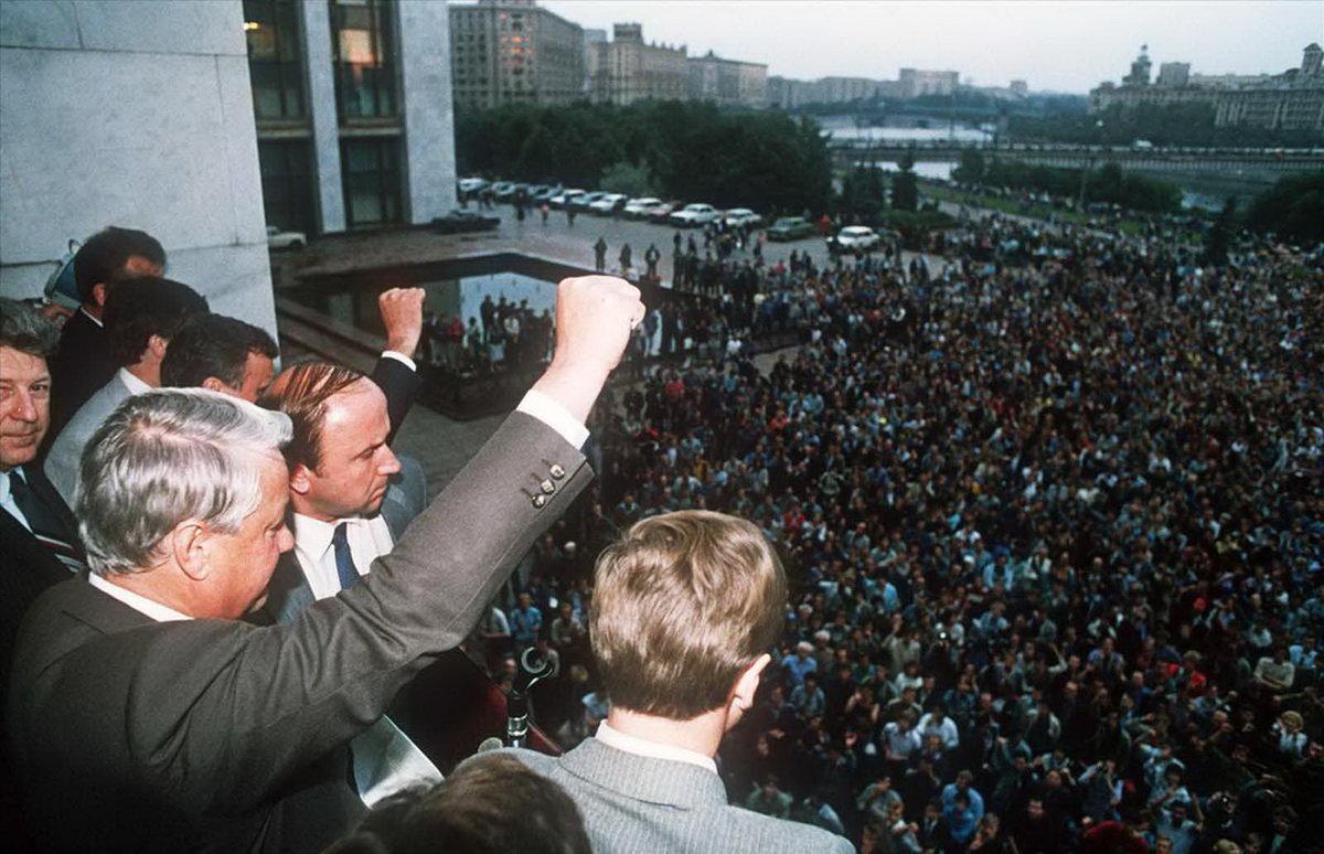 Серпень 91-го року більшість росіян розцінює як найбільшу трагедію. Чому?