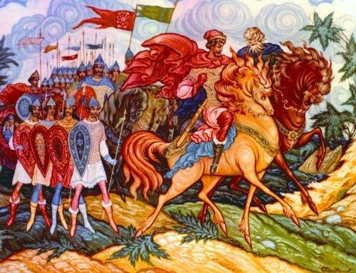 Легенда про Словени і Русе