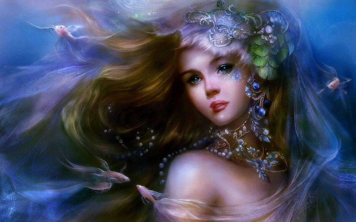 Моряна - прекрасна дівчина з слов'янських легенд