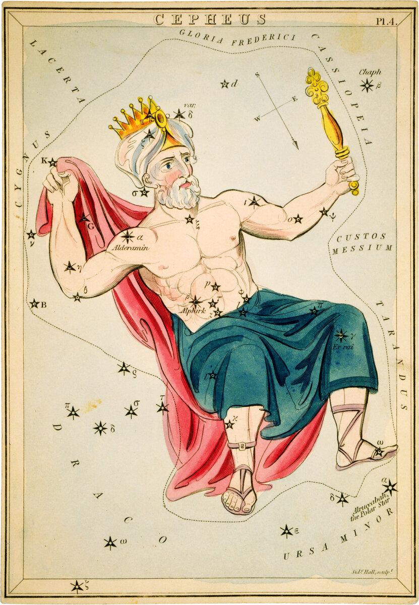 Міф про те, як Персей врятував Андромеду