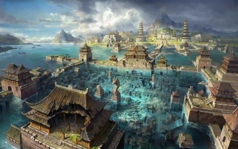 Міфічні міста, оповиті легендами та переказами