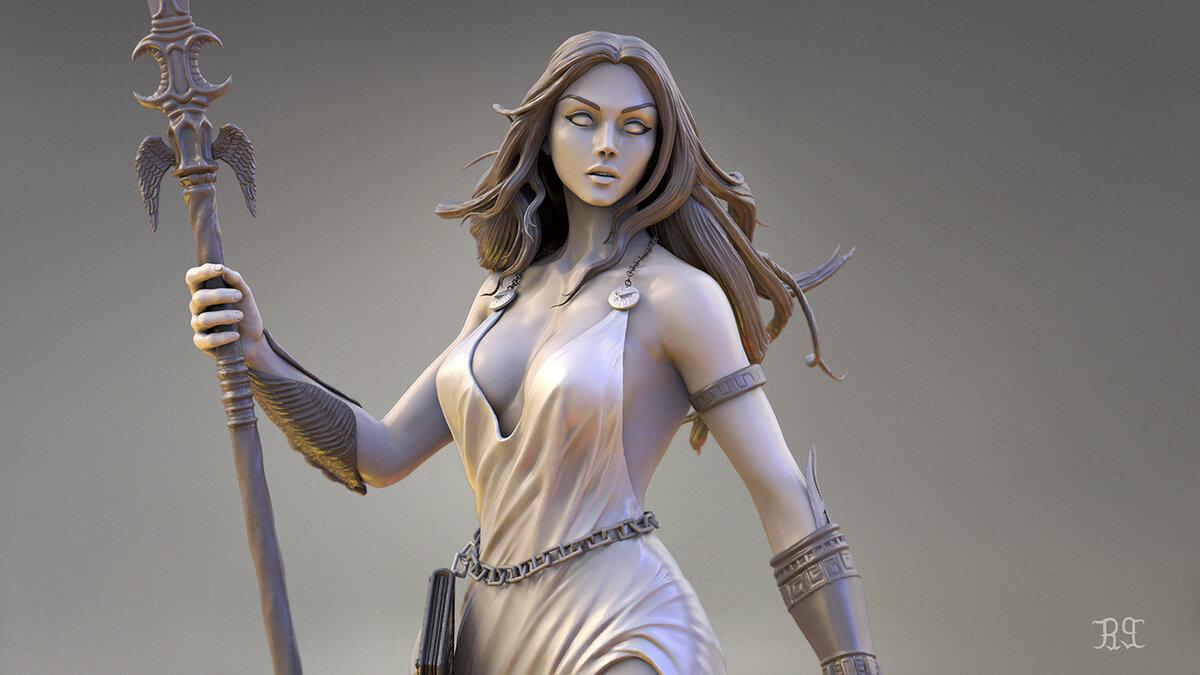 Афіна, богиня мудрості і її фаворит