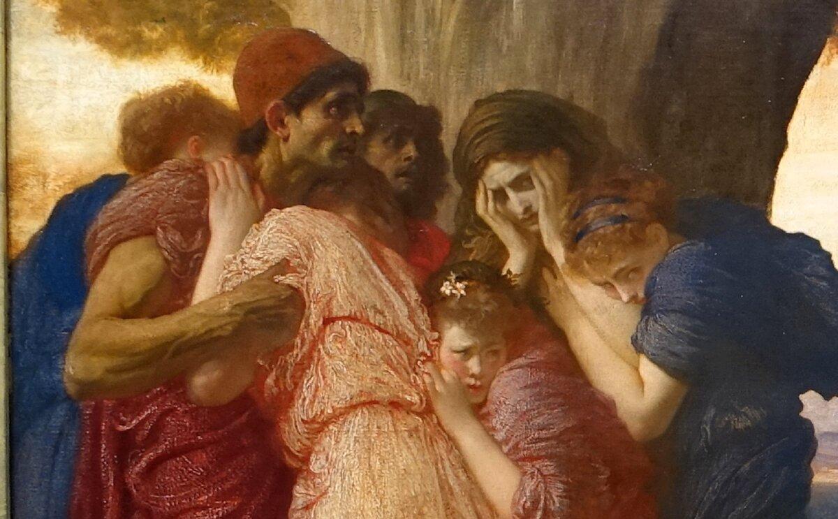 Міф, в якому чоловік і дружина намагалася розлучити смерть, але у неї нічого не вийшло