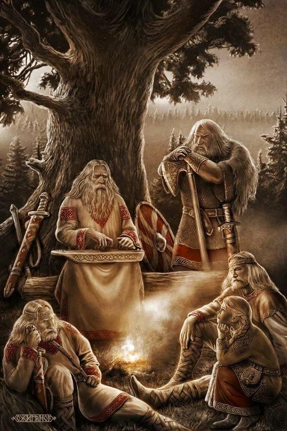 Чому боги слов'ян і скандинавів так схожі