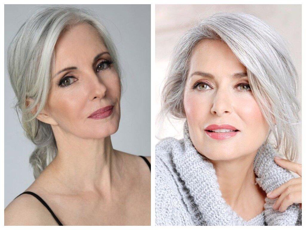 Як фарбуватися жінки з сивим волоссям: 5 порад