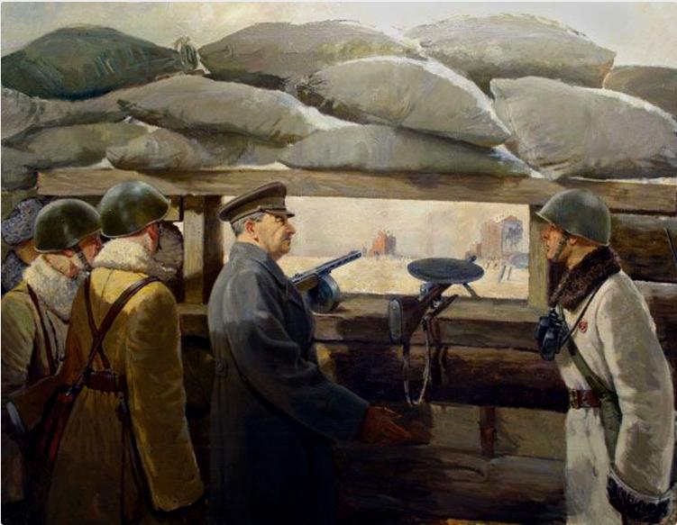 Як радянські керівники проявили себе на фронтах Великої Вітчизняної?