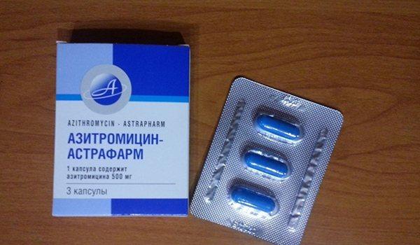 3 таблетки Азитроміцину - інструкція із застосування