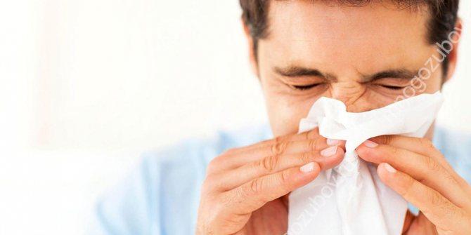 Алергічні реакції як причина оніміння