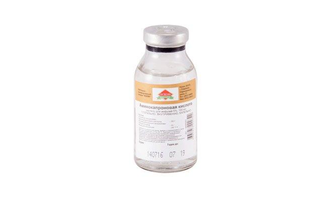 Амінокапронова кислота від крові