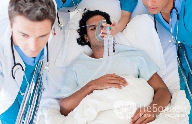 Анафілактичний шок вимагає своєчасної та адекватної медичної допомоги