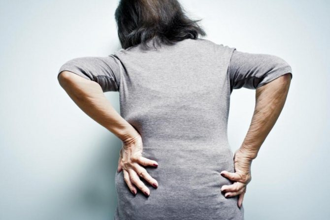 артрит спина