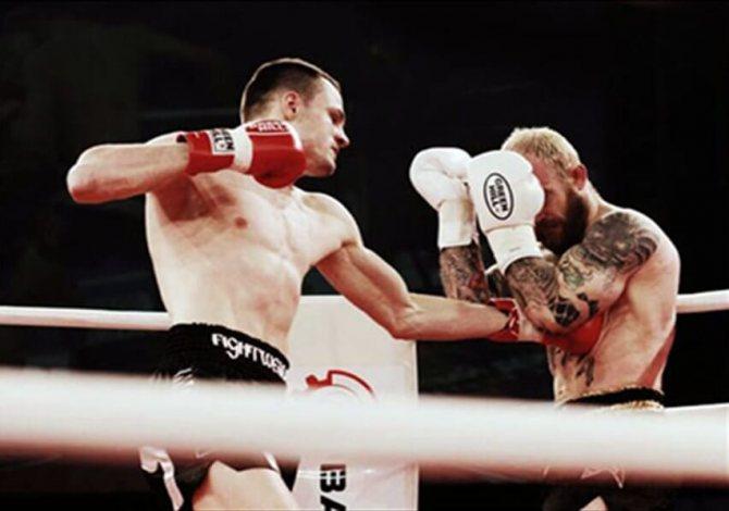 Боксери на рингу