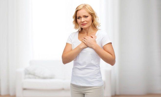 Біль в грудях зліва