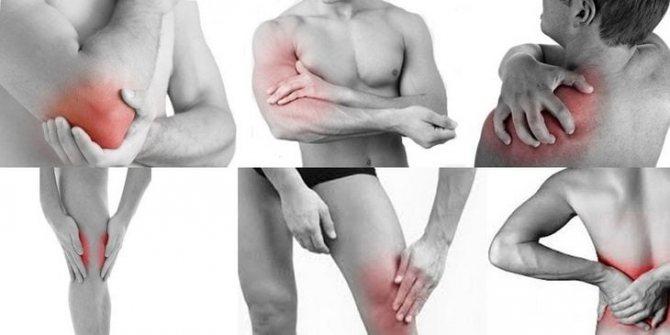 Больовий синдром в суглобах і м'язах