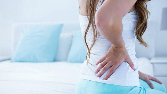 хворобливе відчуття в спині