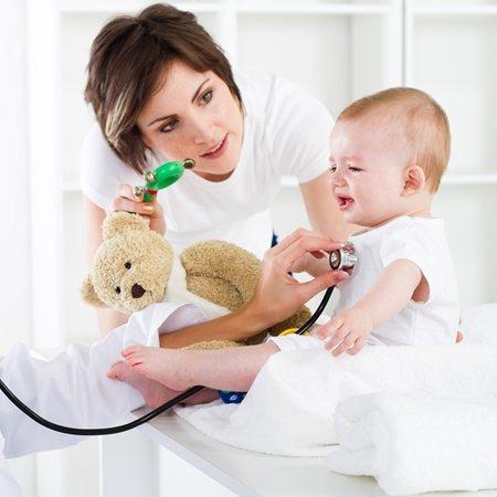 Бронхіт в перший рік життя дитини