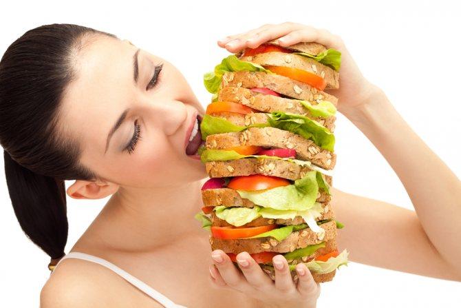 Булімія - патологічне переїдання