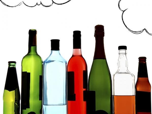 пляшки алкоголю