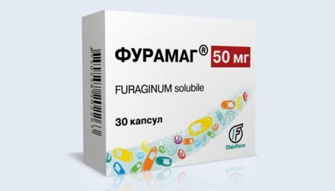 Швидке лікування циститу у жінок таблетками: препарат Фурамаг