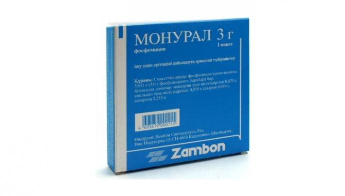 Швидке лікування циститу у жінок таблетками: препарат Монурал
