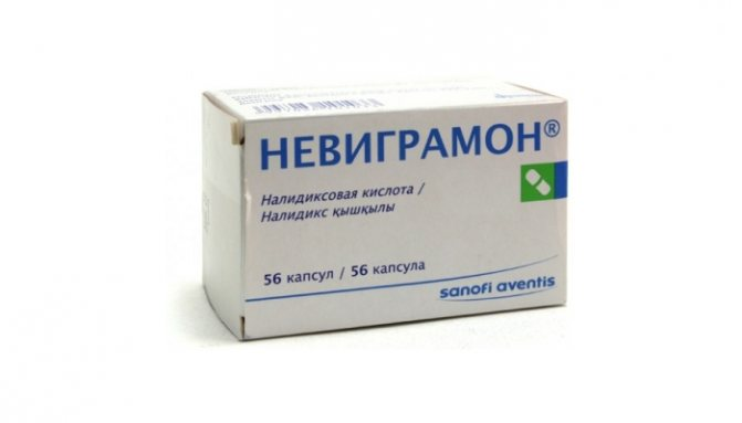 Швидке лікування циститу у жінок таблетками: препарат Невіграмон