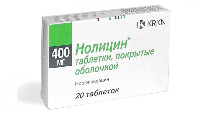 Швидке лікування циститу у жінок таблетками: препарат Нолицин