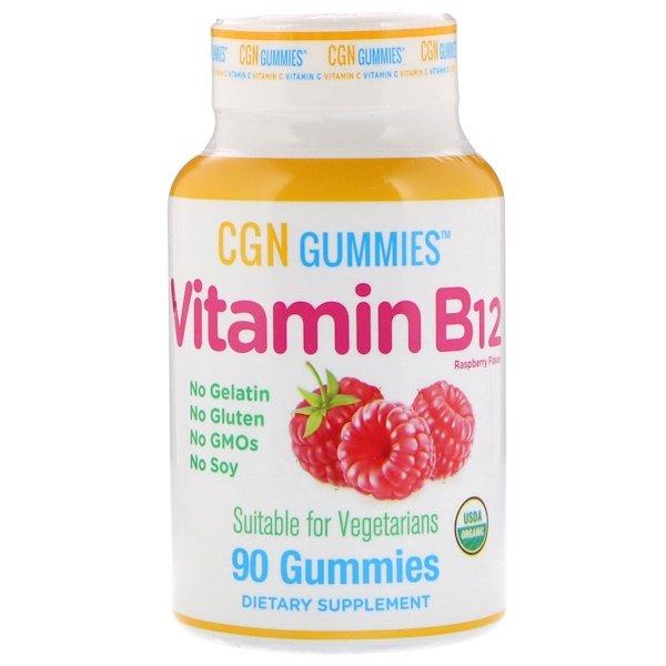California Gold Nutrition, Метил B12 метілкобаламін, натуральний малиновий смак 1500 мкг, 90 жувальніх таблеток