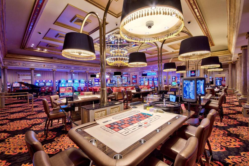 Изнутри в реальном казино