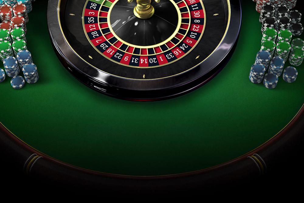 Рулетка и фишки казино
