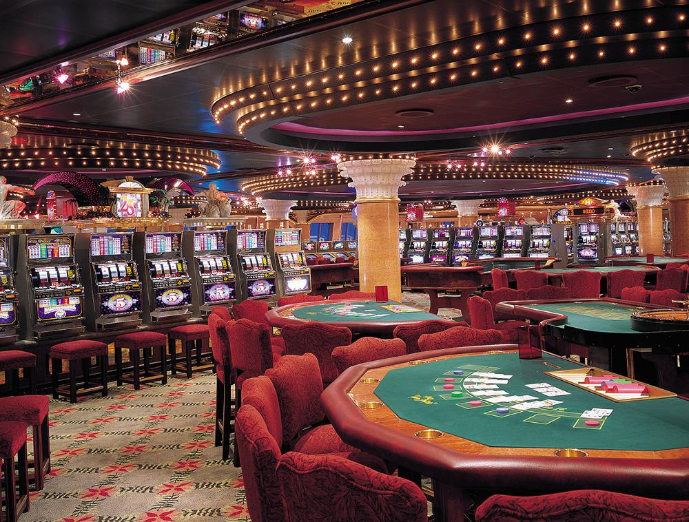 Интерьер реального казино