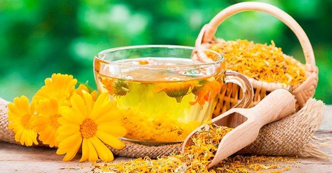 Чай з календули