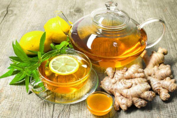 Чай з імбіром для схуднення