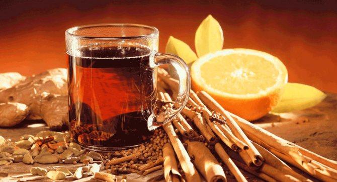 Чай з корицею від головного болю
