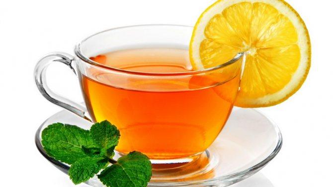 Чай з лимоном »Про чай