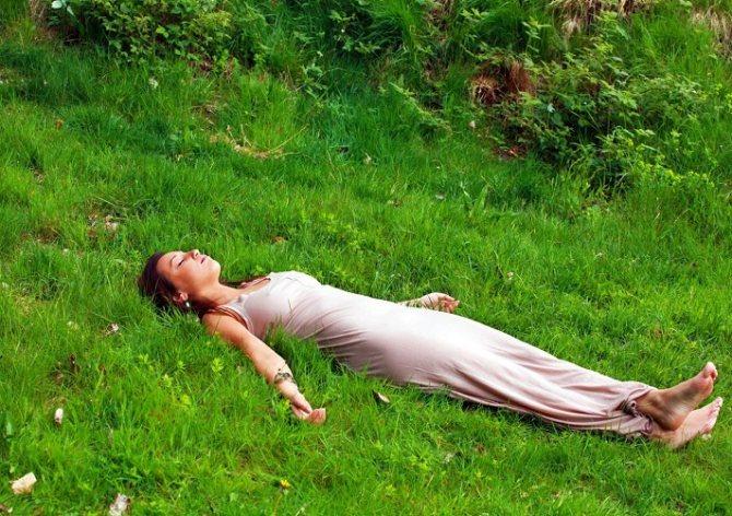 Частіше давайте собі відпочити, особливо на свіжому повітрі і в гармонії з природою