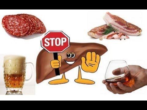 Щоб печінкові клітини були здорові, необхідно відмовитися від ряду шкідливих продуктів: жирних і копчених, смажених страв, алкоголю та ін.