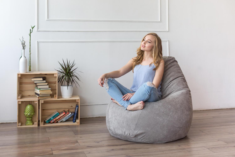 Кресло мешок – оригинальное и стильное решение для вашего интерьера