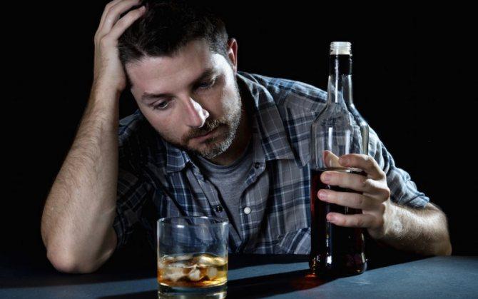дію алкоголю на організм