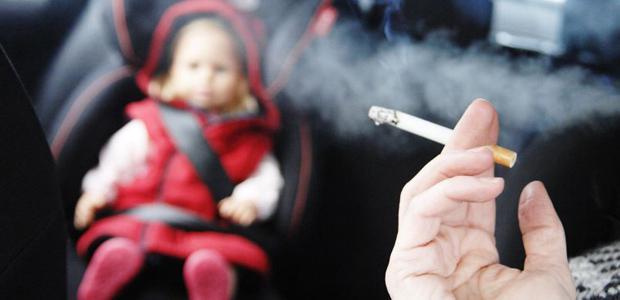 діти и пасивне куріння