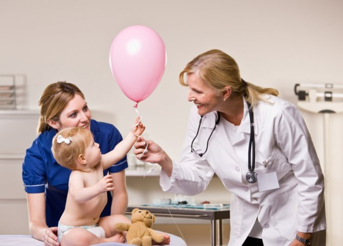 Діти раннього віку потребують лікарського контролі