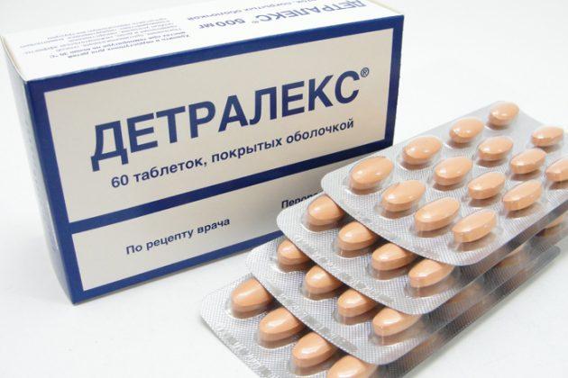 Детралексом можна замінити Венарус