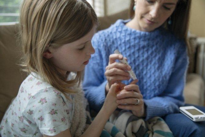 Діабет у дітей