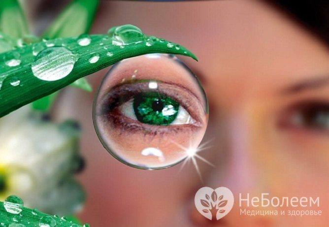 Діабетічна ангіопатія Судін сітківкі проявляється погіршенням зору аж до сліпоті