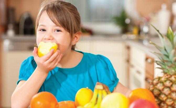 дієта № 6 для дітей