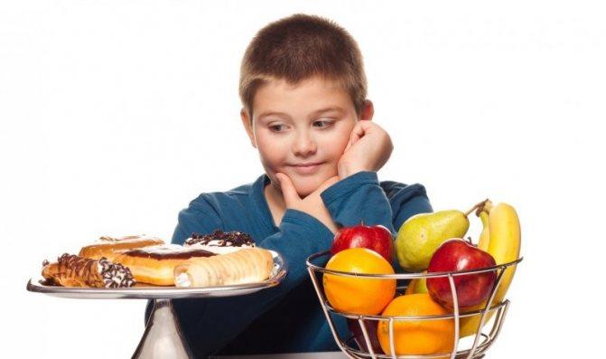 дієта 8 для дітей